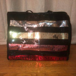 VS | Sequin Tote with Makeup Bag